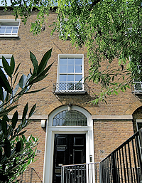 39a Canonbury Square London N1 2AN, front elevation