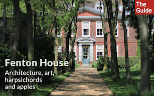 Fenton House: architecture, art, harpsichords and apples