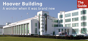 The Hoover Building - a wonder when it was brand newly refurbished