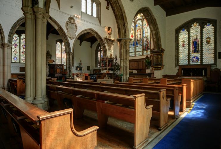 St Ghastly Grim interior