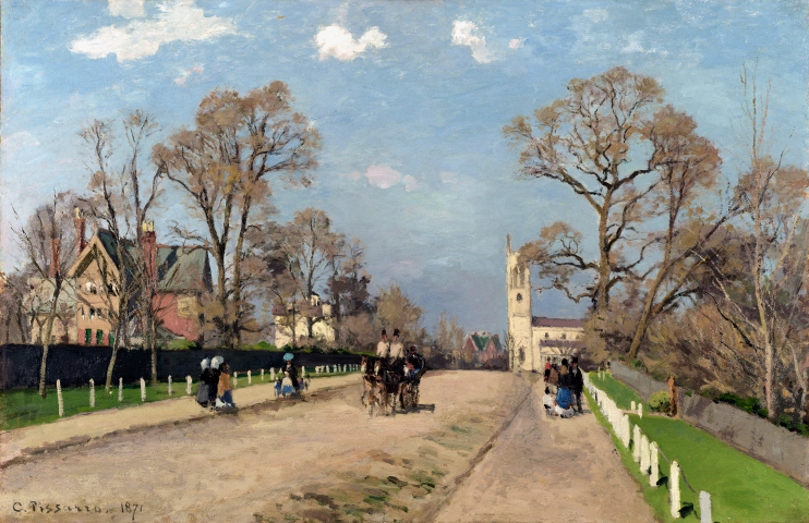 Camille Pissarro - The Avenue Sydenham
