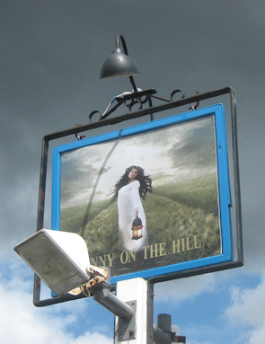 Fanny on the Hill pub sign