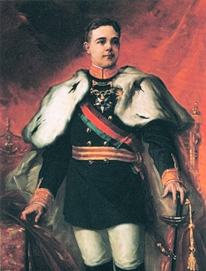 Portrait of Manuel II of Portugal