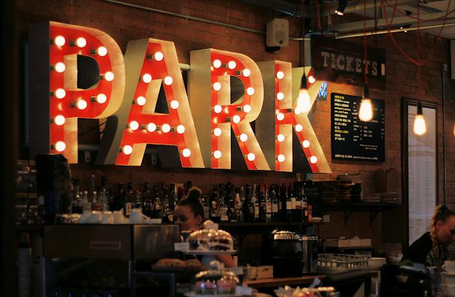 Park Theatre bar