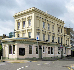 Queen Elizabeth Pub - now a hostel