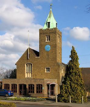 St Peter's church, Gubbins Lane