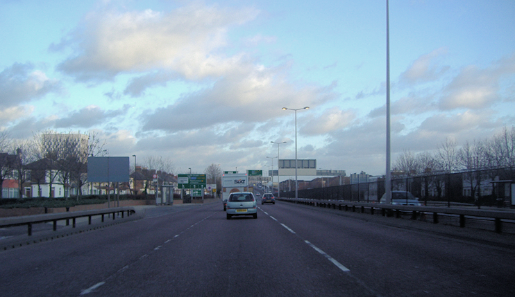Angel Road (North Circular), Edmonton