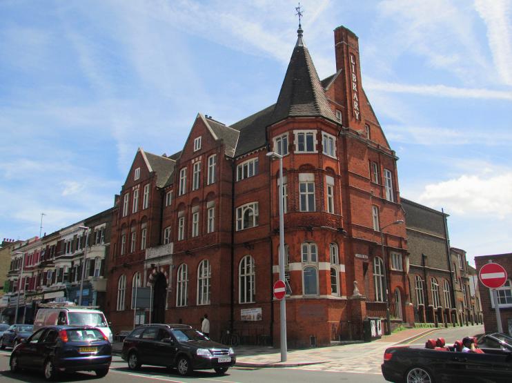 Battersea library