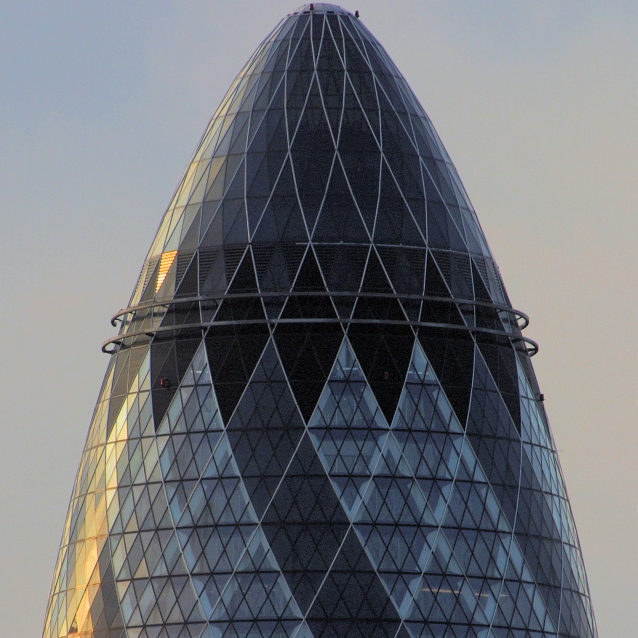The Gherkin at 30 St Mary Axe