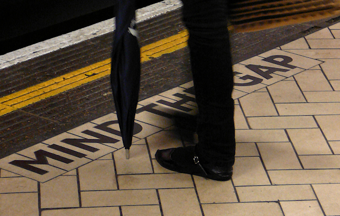Mind the Gap in mosaic tiling