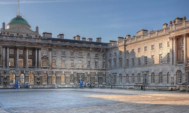 Somerset House courtyard