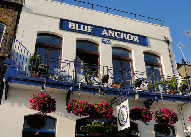 Blue Anchor exterior