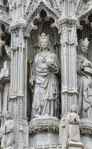 Eleanor Cross - Charing Cross (detail)