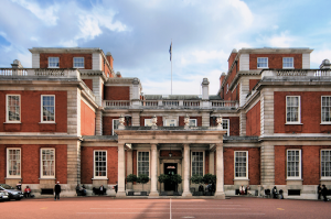 Marlborough House courtyard