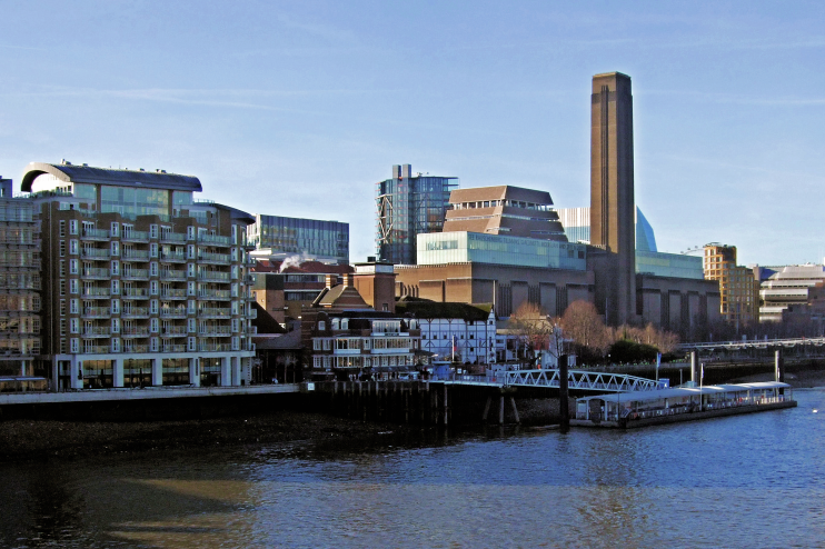Hidden London: Tate Modern By The Thames, January 2017