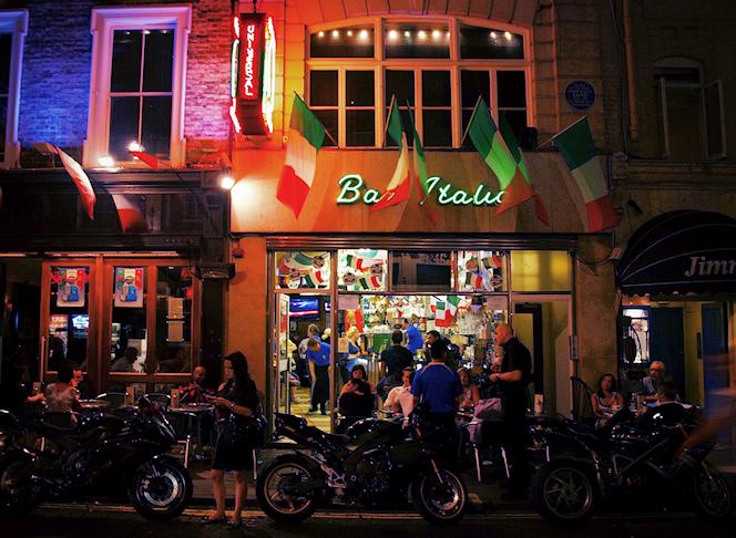Bar Italia Soho -  SomeDriftwood