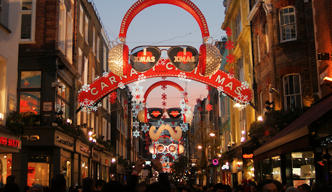 Carnaby Christmas - geograph-4270458-by-Robert-Lamb