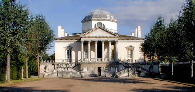 Chiswick House frontage