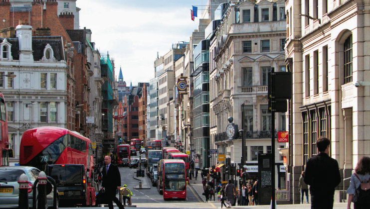 Fleet Street Afternoon