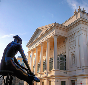 The third theatre on this site, the Royal Opera House has staged ballets and operas for more than 150 years