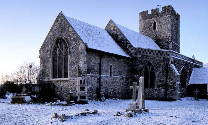 Wennington church, by Christopher Hilton