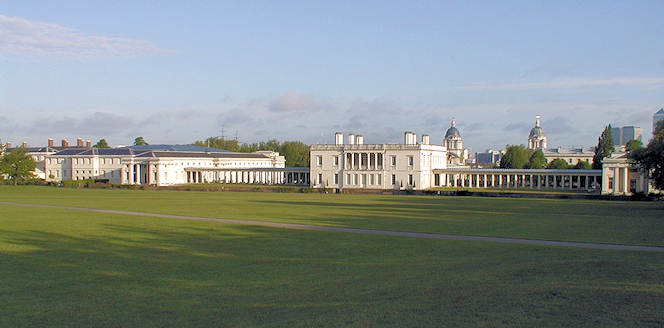 Greenwich, early morning, some years ago