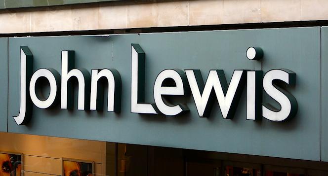John Lewis Oxford Street fascia
