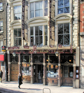 The King's Head pub and theatre