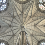 Chapter House ceiling, Westminster Abbey