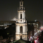 St Clement Danes tower and steeple