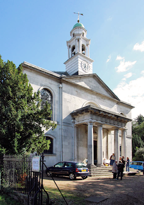 St Mary's church, Overton Drive