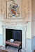 Forty Hall fireplace