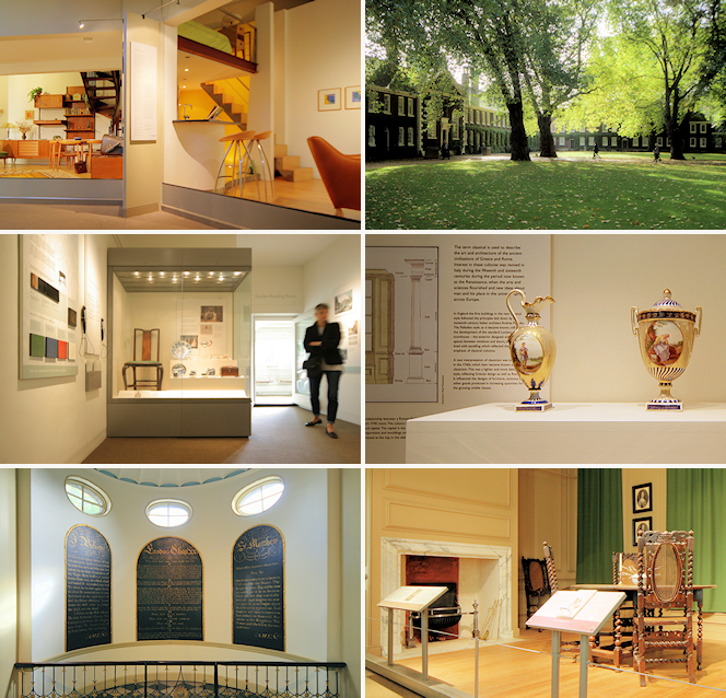 Geffrye Museum - six photographs