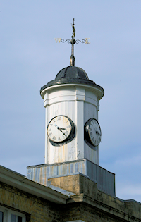 Clock turret on the stable block
