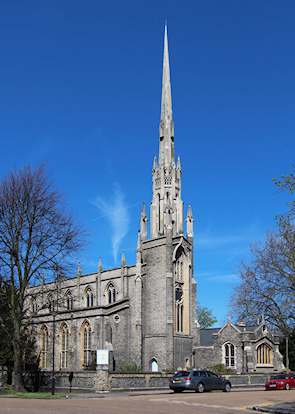 St Michael and All Angels, Pond Road, Blackheath Park