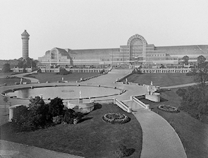 The Crystal Palace at Sydenham (1854)