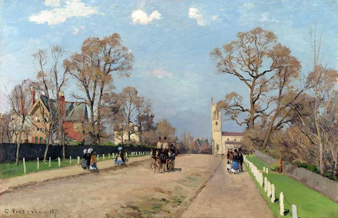 Camille Pissarro - The Avenue Sydenham