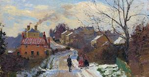 Fox Hill, Upper Norwood, by Pissarro