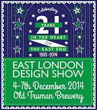 click for the East London Design Show website