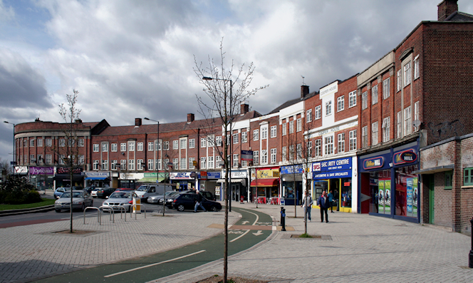 Belmont Circle - geograph-1781619-by-Dr-Neil-Clifton