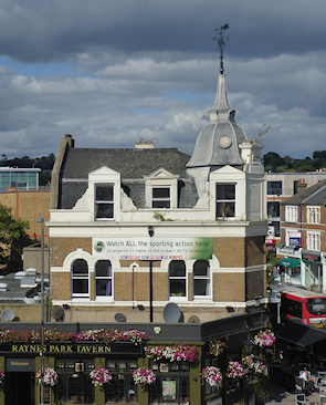 The Raynes Park Tavern was built in 1904