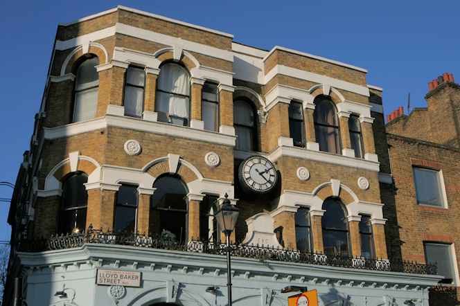 upper floors of the Union Tavern