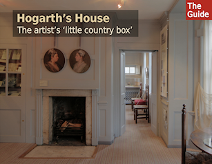 Hogarth's House - The artist's 'little country box beside the Thames'