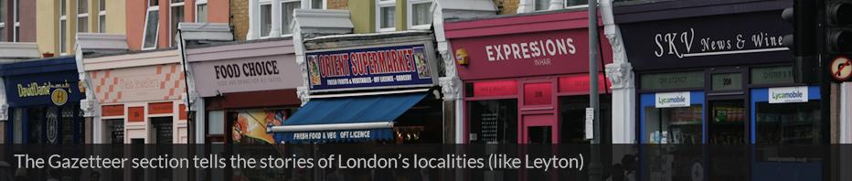 Leyton shops