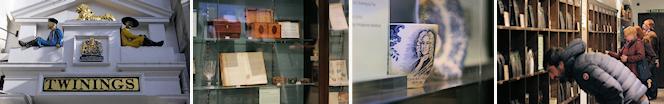 Twinings tea boutique and mini-museum