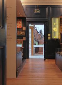 Doorways on the ground floor of the William Morris Gallery