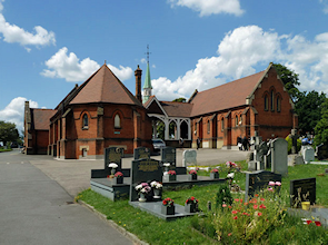 Chapel buildings, Bandon Hill cemetery