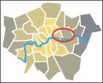 Inner east London