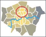 Inner north circled