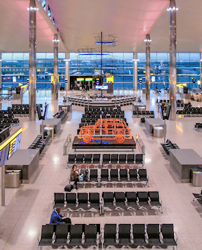 Terminal 2 departure lounge